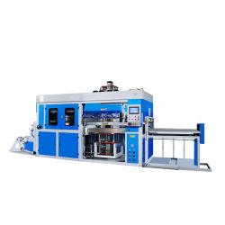 ماكينة تحضير السندل البلاستيكية شبه الأوتوماتيكية أطباق صناديق الوجبات السريعة جهاز صنع صينية حاوية Lipds