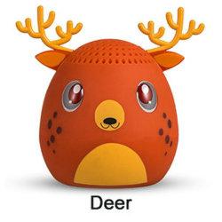 Mignon de haute qualité Deer Bluetooth sans fil Mini haut-parleur portable Animal de compagnie