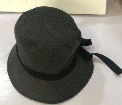 Caliente la fabricación de vender el nuevo diseño de moda de Jazz de lana gran moda otoño invierno de la mujer sombrero Fedora Cap