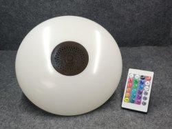 Anschluss LED-runder Musik-Birne RGB-Bluetooth Fern-Lampe der RGB-16 Farben-LED