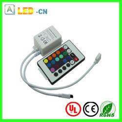 24 Infrarode RGB van hoofd sleutels Controlemechanisme