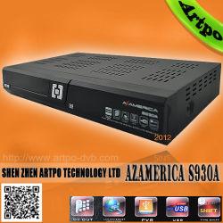 Оригинальные Nagra Azamerica S930A3 Цифровой спутниковый ресивер DVB-S2 для Боливии, Чили, Колумбии, Venzuela.