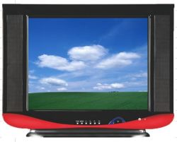 Fabrikant voor CRT-TV met een CRT-TV van het klassieke model van 14 inch