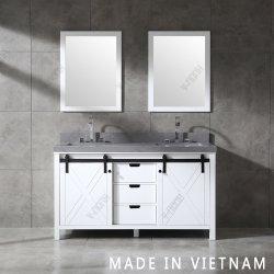 América do Norte 60 pol estilo casa de banho de alta qualidade a vaidade de mobiliário