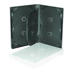 4-6のディスク(6ディスクTY)のための22mm DVD箱