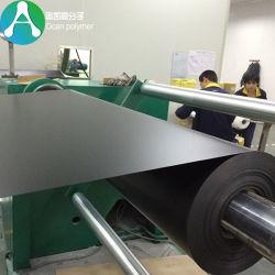 스크린 인쇄를 위한 1400X0.3mm 서리로 덥은 까만 엄밀한 PVC 필름 롤