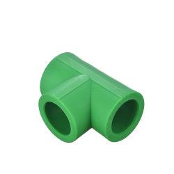 Fábrica de montagem do tubo PPR 20mm - 110 mm PPR Montagem de Cor Verde Pn25 PPR ETE