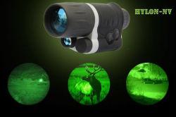 3X42デジタルIRの低レベルの軽い夜間視界の視力はNv偵察する