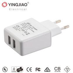 5V 3.1A Adapter van de 15.5Wgelijkstroom de Dubbele Macht USB