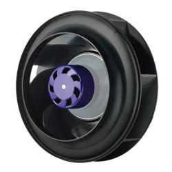 250mm EC/AC 230V-ventilator producent van achterwaartse gebogen centrifugaalventilator