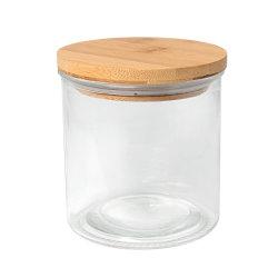 Системы хранения данных на кухне со стеклянным кувшином для приготовления чая и специй гайку контейнер с крышкой из бамбука