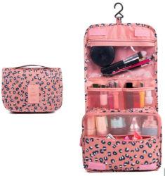 防水ハングの構成キット旅行洗面用品の洗浄装飾的な小型旅行荷物のパッキング網の袋の記憶袋