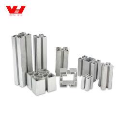 Extrusión de Aluminio Anodizado OEM T/V de la industria de la ranura del perfil de aluminio para equipos de construcción y uso de la máquina o la ventana y puerta.