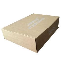Professionnels de la conception personnalisée recyclables Brown à la main Boîte de papier kraft pour les biens de l'emballage