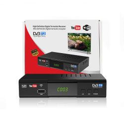 Decoder DVB-T2/T HD 1080P ricevitore TV digitale terrestre DVB T2