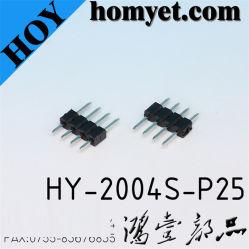 2.0Mm Pitch Embase mâle de type DIP droite de la broche du connecteur de barre de coupe