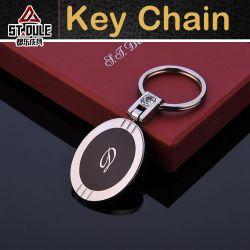 금속 형식 사슬 타원형 펜던트를 가진 가장 새로운 주문 열쇠 고리 금속