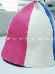 Sombrero de fieltro de lana para Sauna