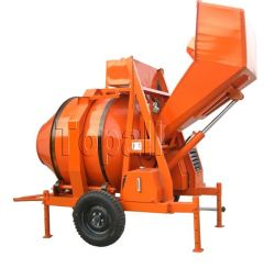 560L Diesel van Yanmar Concrete Mixer met het Hydraulische Tippen