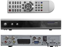 Globo 4100c Iclass 9595 9696 9797 HDTV The Box Digital 위성 수신기