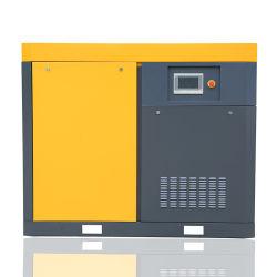 Macchine ad alta pressione del compressore della vite della barra di fabbricazione 40kw 10 della Cina per Mining' I funzionamenti di S comprendono l'interfaccia del PLC