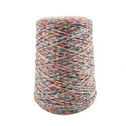 150D/4 capas de tejido de poliéster hueca metálicos cable trenzado de cuerda de cinta para accesorio de tela