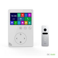 4,3 pouces Interphone Interphone vidéo Téléphone Sonnette de porte