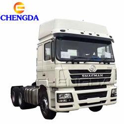 شاحنة جرار مقطورة Shacman F2000 F3000 M3000 10 Wheeler 6X4 380HP 420HP