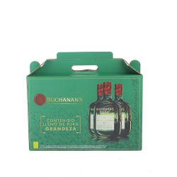 Vinho Barato preço personalizado Garrafa de licor Embalagem com bandeja