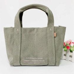 Markendesign gute Qualitätsbaumwollsegeltuch-Form-Damen Handtaschen