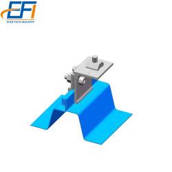 Metalldach-Sonnenkollektor-Schelle-Solardach-Oberseite-Zinn-Dach PV-Baugruppen-Schelle