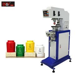 Machine van de Druk van het Stootkussen van de Machine van het Af:drukken van de Blikken van het Aluminium van de Printer van het Stootkussen van de Kleur van Tampografia de Enige Automatische