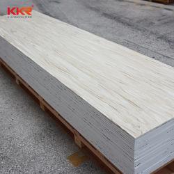 Белый DuPont Corian цена лист камня 100% полиакрил твердую поверхность слоя искусственного камня в мастерской