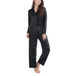 2020 Vastgestelde Nachtkleding Loungewear van de Pyjama van het Satijn van de in het groot Vrouwen van de Manier de Klassieke