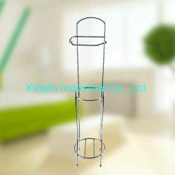Salle de bain libre toilette permanent titulaire Stand-Tissue Kfr Rack-Paper rouleau40018