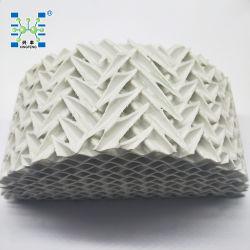 陶磁器の注入口のコラムの陶磁器の波形の構成されたパッキング