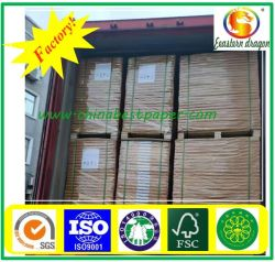 Verpackungs-Papier Rolls des überzogenen Papier-250g/300g/350g/400g/450g/des Geschenks/Duplex-Karton (Weißrückseite)