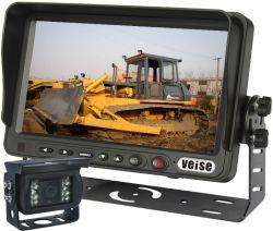 Pavimentadora de asfalto el Sistema de monitoreo de la cámara de marcha atrás