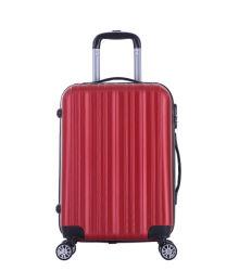 Prueba de Scratch Funda Rígida ABS Maleta de Viaje equipaje con el bloqueo (XHA177)