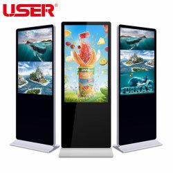 Plancher LCD permanent de la signalisation numérique, affichage de publicité verticale