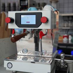 Aço eléctrico da máquina de café Espresso Semiautomático/triturador