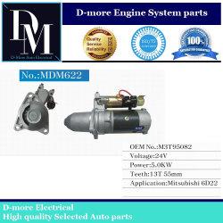 Le démarreur pour Mitsubishi 6D22/6D22t/pelle Hyundai M3T95082 T55071 M4M4T55075