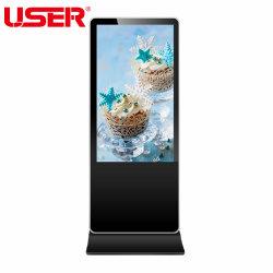 43 / 49 / 55 /65 ''indoor Comercial de Retalho publicidade LCD exibir telas de vídeo independente para a Sinalização Digital Media Player Publicidade para Shopping Mall