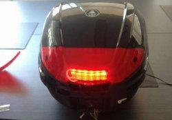 Doos van de Staart van de Doos van de Toebehoren van de motorfiets de Achter met LEIDENE ts-B10
