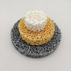 Filtro di ceramica dalla gomma piuma porosa di Sic di Zirconia dell'allumina