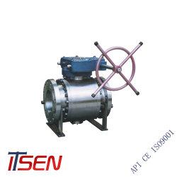 Кованая сталь A105 /F304/F316/F304L/F316L фланцевые концы шарового клапана