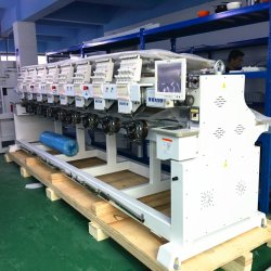 8 Chefes de máquinas de bordar China alargado para a T-shirt bordados