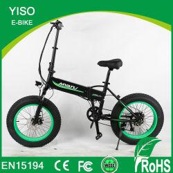 Graisse de 20 pouces pneu pliant vélo électrique 48V500W Graisse électrique Pliant Vélo pour le commerce de gros vélo de montagne électrique