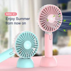 Luft-Kühlvorrichtung-Ventilator elektrisch, Tisch, Laptop, nachladbare Gleichstrom-Ventilatoren