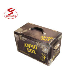 20 litros de gelo Vintage Retro Tórax, caixa do resfriador de Metal